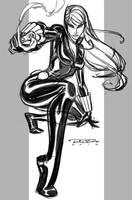 Sketch::Black Widow