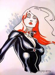 Sketch::Black Widow 2 by KharyRandolph