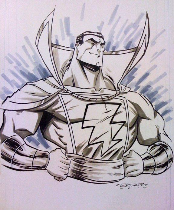 DC Comic Sketches
