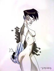 Sketch::Bomb Queen by KharyRandolph