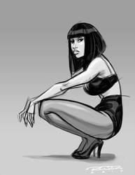 Sketch::Nicki Minaj by KharyRandolph