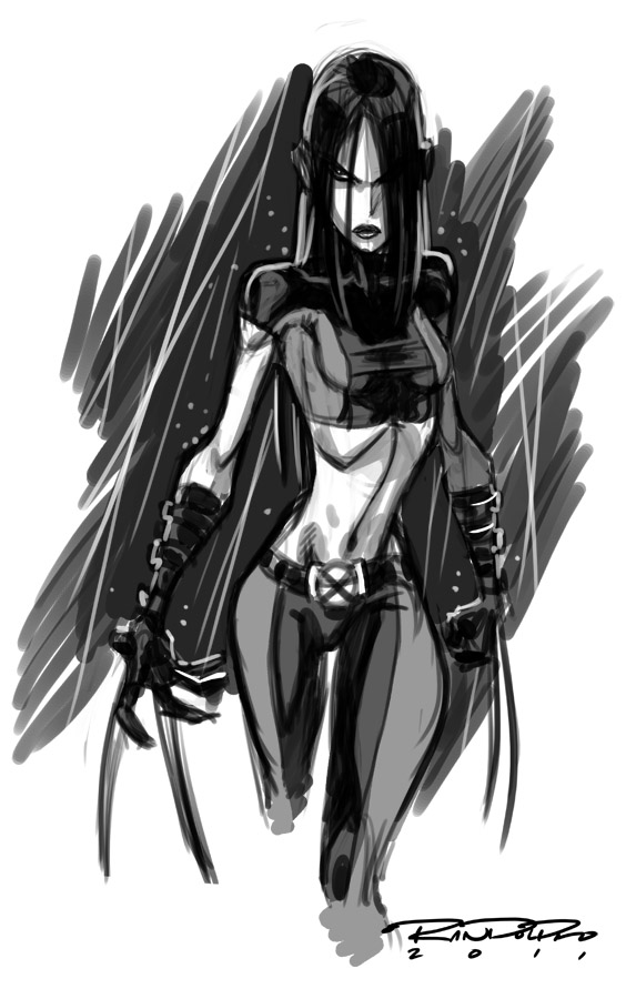 Sketch::X-23 by KharyRandolph