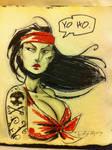 Sketch::Pirate Chick