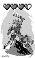 AA::The Legend of Zelda by KharyRandolph