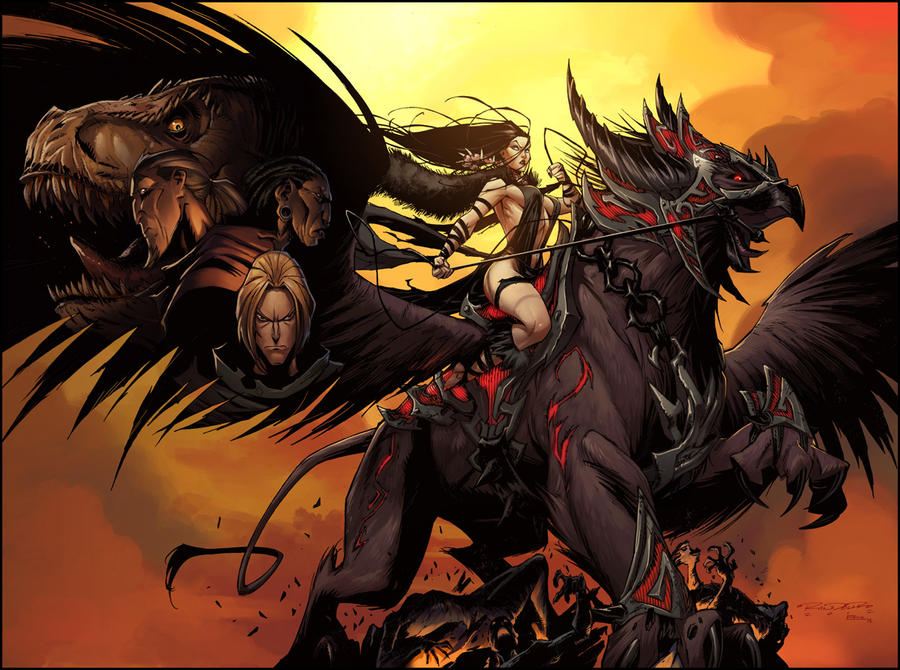 Charismagic:: The Death Princess by KharyRandolph
