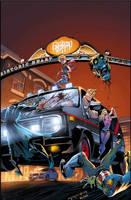 Fanboys Vs. Zombies 05::Cover by KharyRandolph