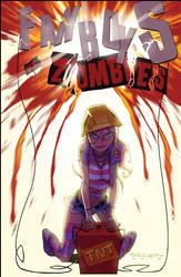 Fanboys Vs. Zombies 08::Cover by KharyRandolph