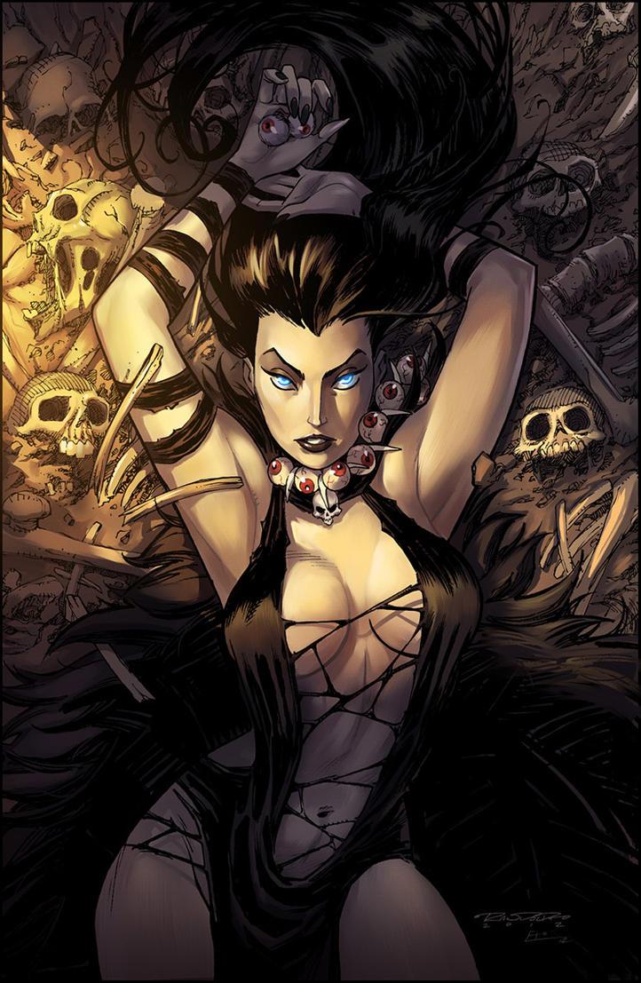 Charismagic:: The Death Princess 3 by KharyRandolph