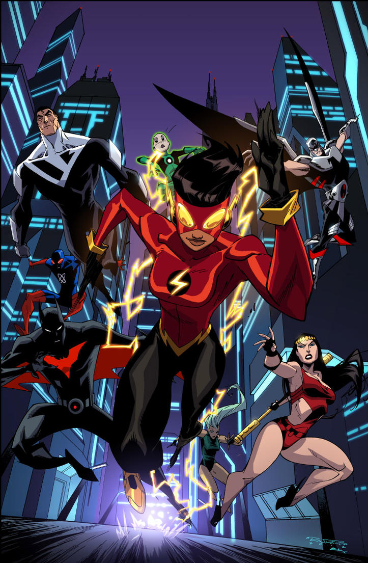 Justice League Beyond 19 by KharyRandolph