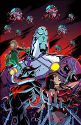 Batman Beyond Universe #6 by KharyRandolph
