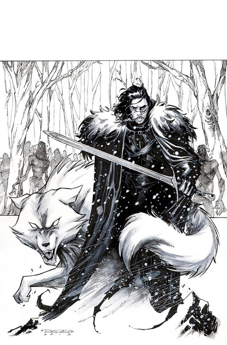 Jon Snow by KharyRandolph