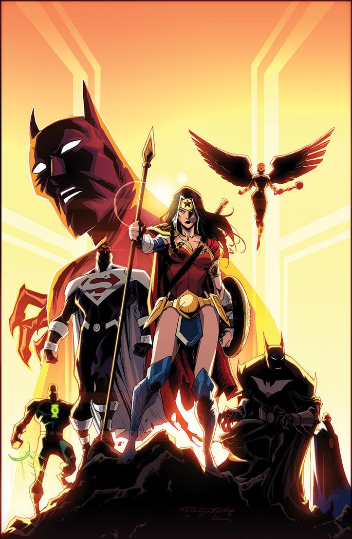 Batman Beyond Universe 10 by KharyRandolph