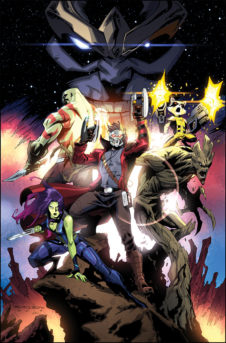 Guardians of the Galaxy by KharyRandolph