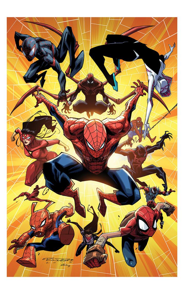 Spiderverse by KharyRandolph