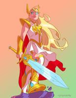 She-Ra by KharyRandolph