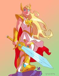 She-Ra by KharyRandolph
