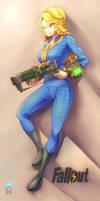 Fallout Girl by uramaka