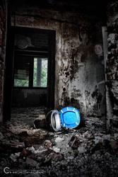 horror broken toilet by d-choonga