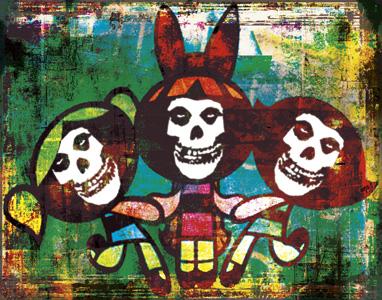 Powerpunk Girls by psychopainter