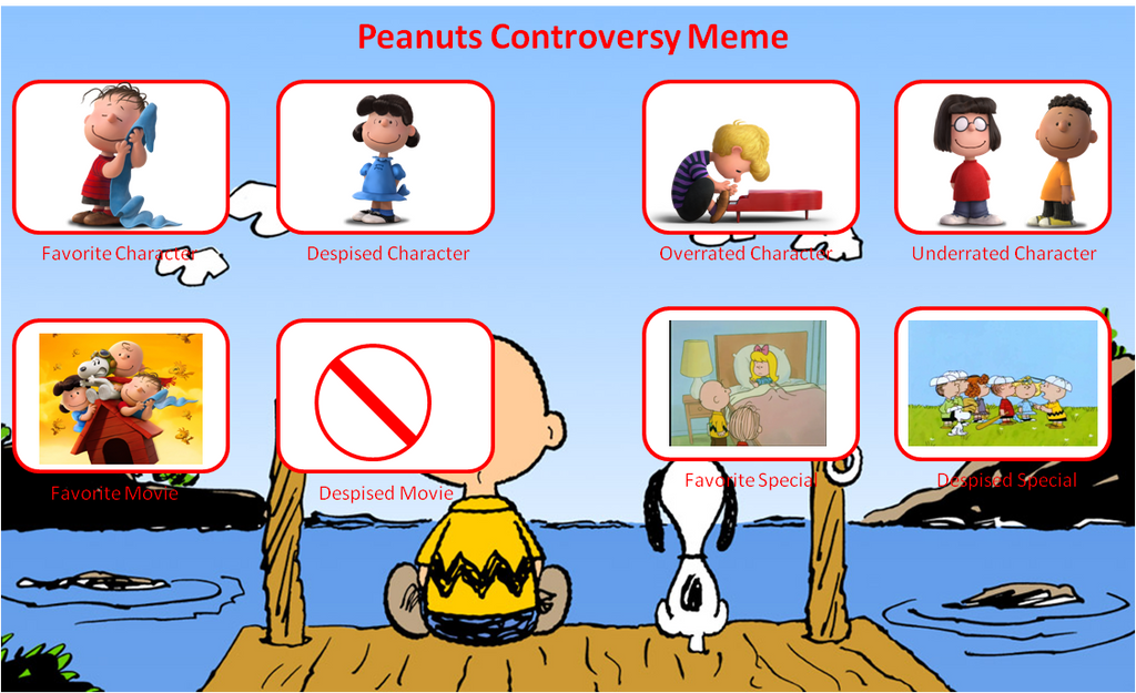 peanuts_controversy_meme_by_digicartoonist99 d9vlx1n my top 10 favorite peanuts specials by kessielou on deviantart