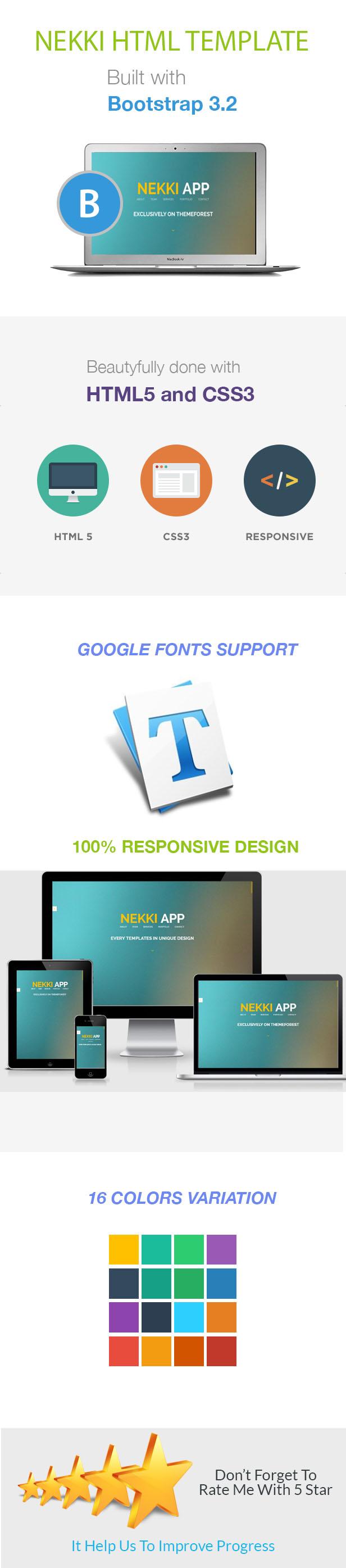 Nekki Creative HTML Template