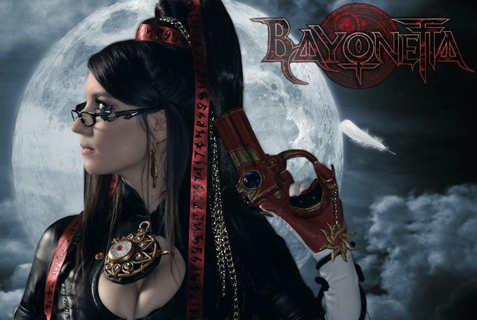 Bayonetta Game Cover Cosplay by Beaupeep101