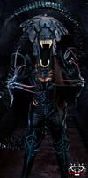 Alien Queen Armour Cosplay