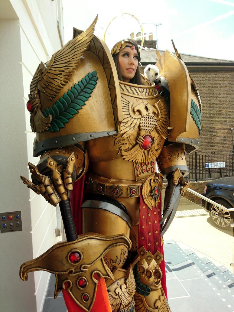 emperor of mankind cosplay warhammer 40k by beaupeep101 on