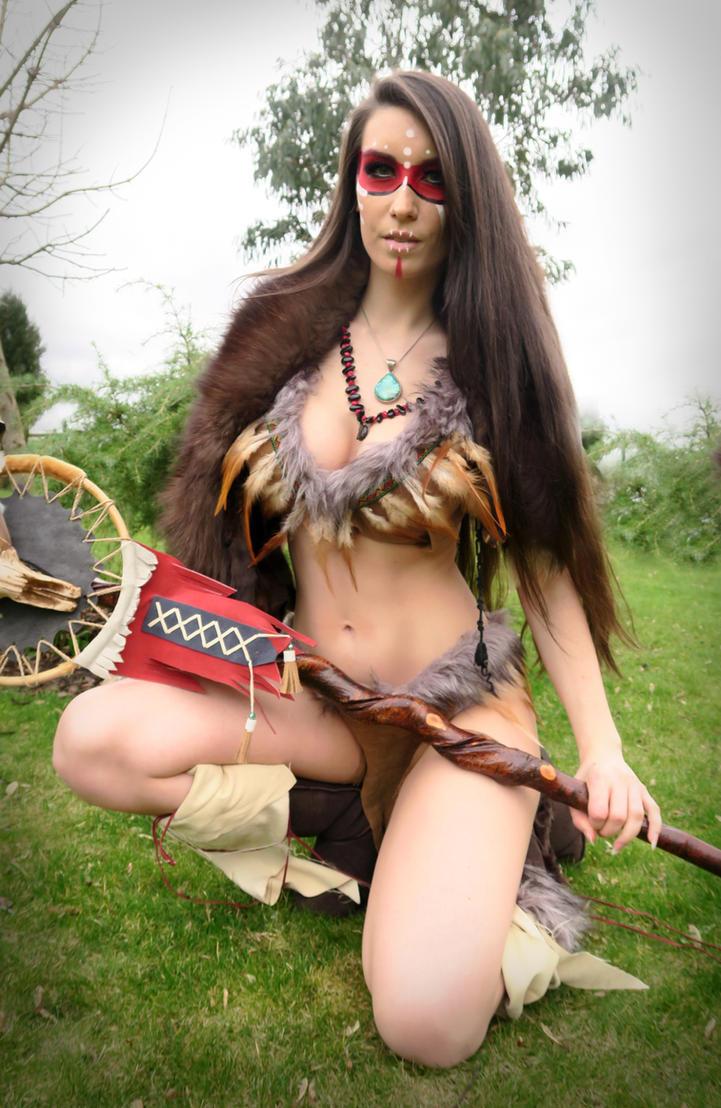 Skyrim Forsworn Cosplay by Beaupeep101