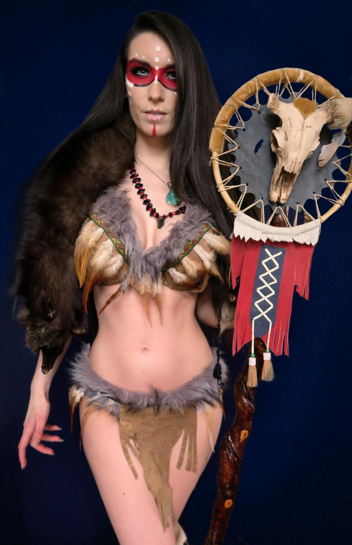 Forsworn Skyrim Queen Cosplay by Beaupeep101