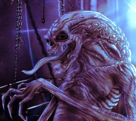 hybrid alien Blue edition