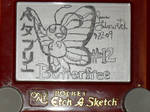 Pokesketch 493: Butterfree