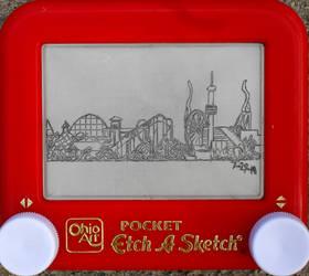Cedar Point etchasketch 3 of 3 by pikajane