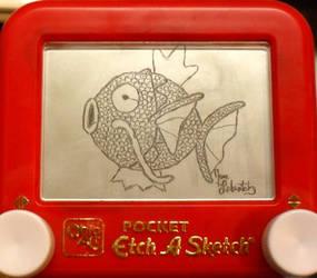 Magikarp etch a sketch by pikajane