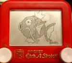 Magikarp etch a sketch