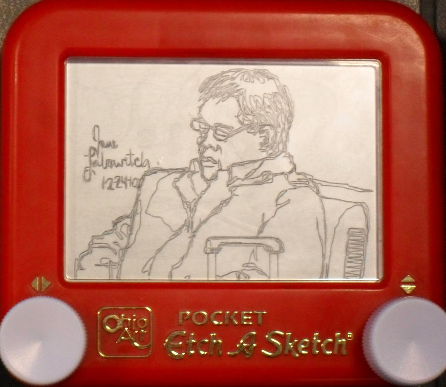 Sleeping guy 2 etchasketch