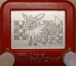 Eevee etch a sketch