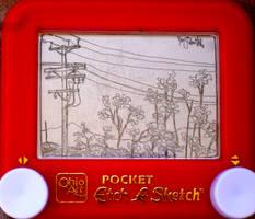 street view etch a sketch by pikajane