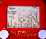 street view etch a sketch