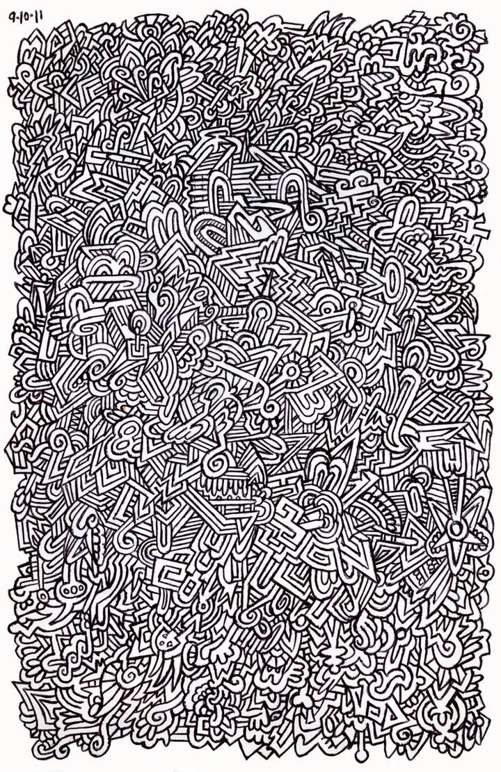 Doodle pen design by pikajane on deviantart - Doodle dessin ...