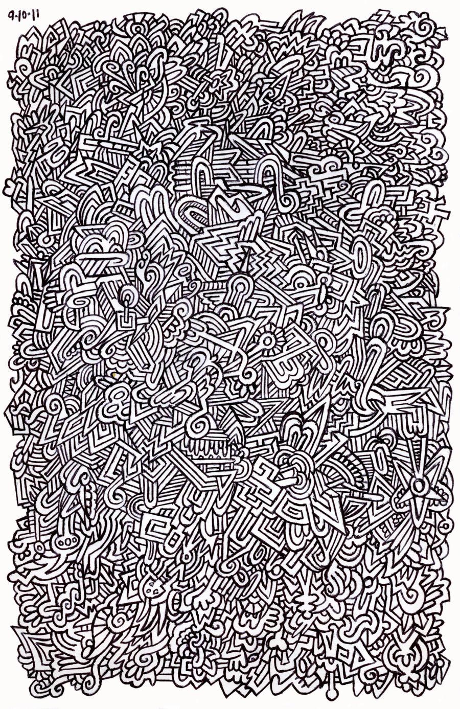 Doodle pen design by pikajane on deviantart for Designs for doodle art