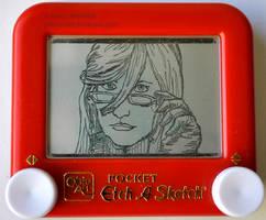 Grell etch a sketch by pikajane