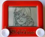 Grell etch a sketch