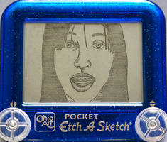 Self-portrait etch a sketch ID by pikajane