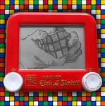 Rubik's Cube Etch A Sketch by pikajane