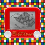 Rubik's Cube Etch A Sketch