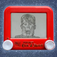 Home Alone Etch A Sketch by pikajane