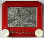 Jigglypuff etch a sketch