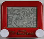 Bloop etch a sketch