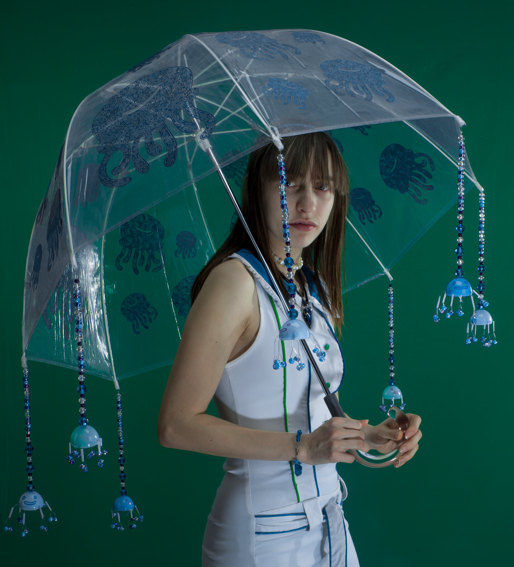 Jellyfish umbrella by pikajane